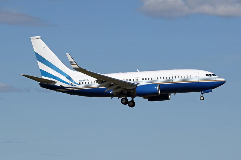 "N887LS Boeing 737-74U ""Las Vegas Sands Corp"" c/n 29233 Anchorage-International/PANC/ANC 07-08-19"