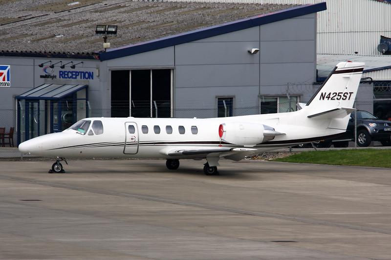 N425ST Cessna 550 Citation II c/n 550-0709 Leeds-Bradford/EGNM/LBA 12-09-14
