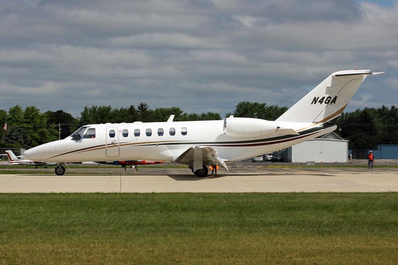 N4GA Cessna 525B Citation Jet 3 c/n 525B-0055 Oshkosh/KOSH/OSH 29-07-13