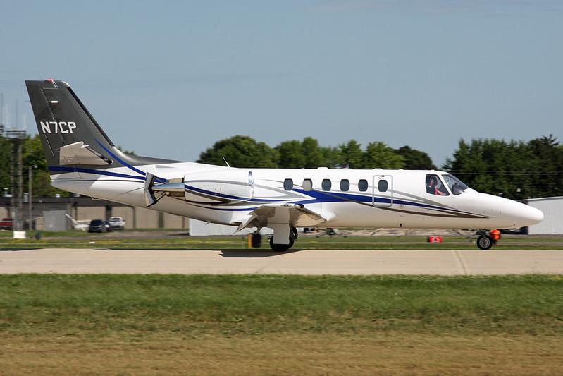 N7CP Cessna 550 Citation Bravo c/n 550-0875 Oshkosh/KOSH/OSH 30-07-16