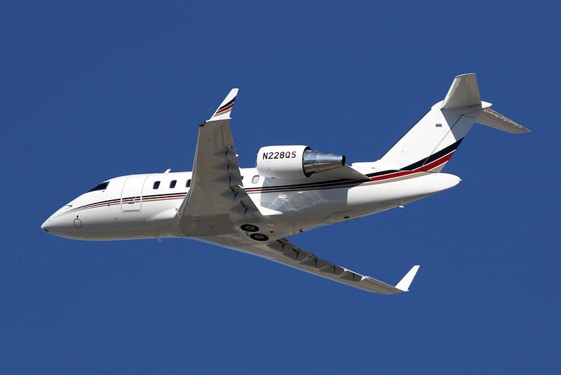N228QS Bombardier 650 Challenger c/n 6103 Los Angeles/KLAX/LAX 26-01-18