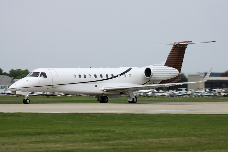 N53NA Embraer ERJ-135BJ Legacy c/n 145770 Oshkosh/KOSH/OSH 27-07-10
