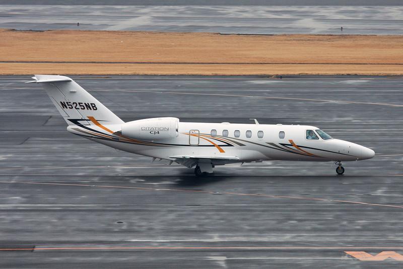 N525NB Cessna 525C CItation Jet 4 c/n 525C-0003 Tokyo-Narita/RJTT/NRT 24-02-11