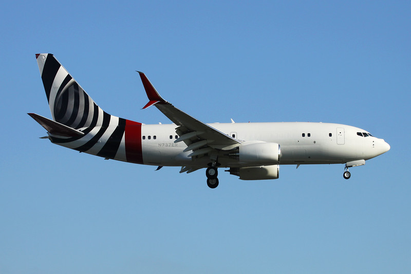 N737ER Boeing 737-7CJ c/n 30754 Paris-Le Bourget/LFPB/LBG 09-07-16