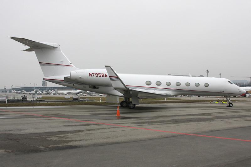 N795BA Gulfstream G550 c/n 5031 Zurich/LSZH/ZRH 26-01-12