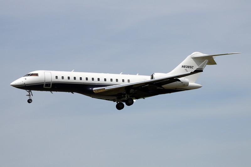 N838SC Bombardier Global Express BD-700-1A10 c/n 9035 Paris-Le Bourget/LFPB/LBG 10-07-16