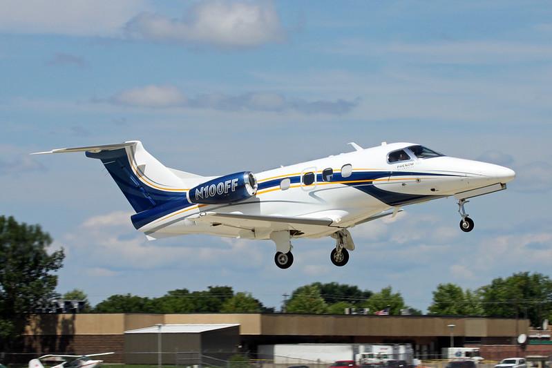 N100FF Embraer EMB-500 Phenom 100 c/n 50000141 Oshkosh/KOSH/OSH 30-07-16