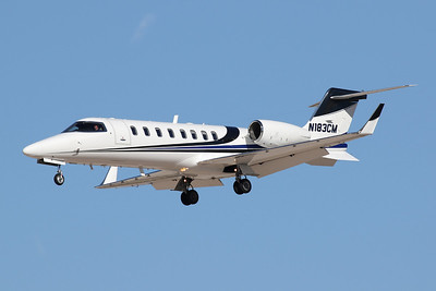 N183CM Learjet 45 c/n 45-133 Las Vegas-McCarran/KLAS/LAS 02-02-18