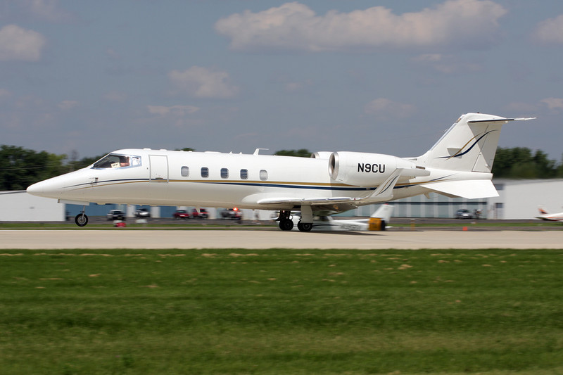N9CU Learjet 60 c/n 60-075 Oshkosh/KOSH/OSH 29-07-10