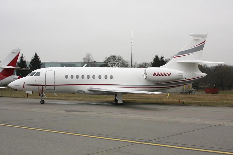 N900CH Dassault Falcon 2000EX c/n 1 Zurich/LSZH/ZRH 26-01-12