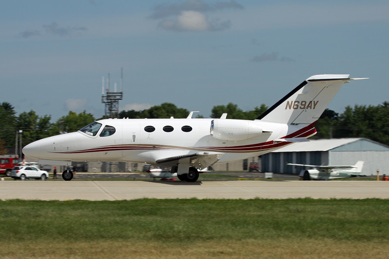 N69AY Cessna 510 Citation Mustang c/n 510-0115 Oshkosh/KOSH/OSH 04-08-13