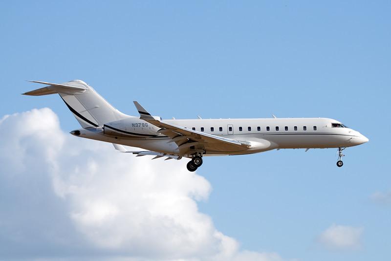 N379G Bombardier BD-700-1A10 Global Express c/n 9199 Heathrow/EGLL/LHR 17-07-10