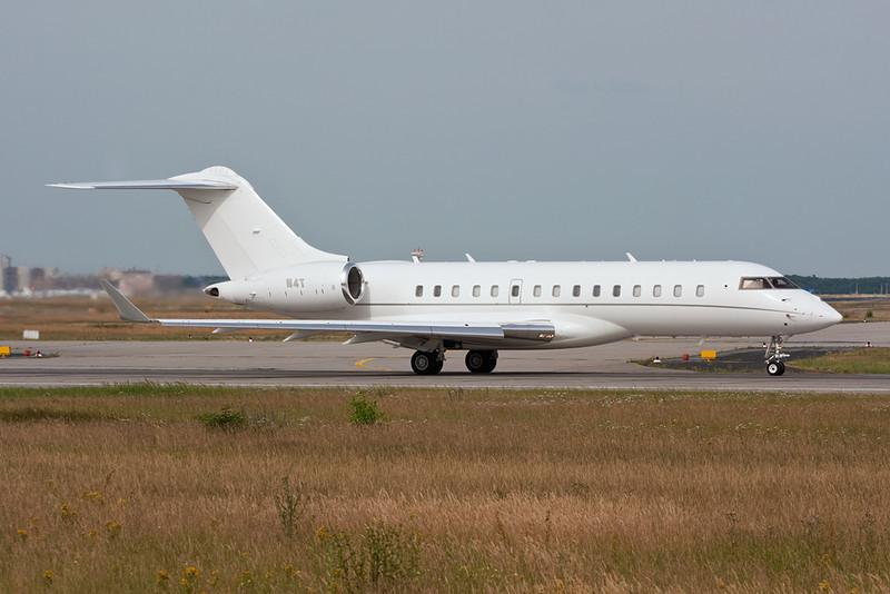 N4T Bombardier BD-700-1A10 Global Express c/n 9195 Frankfurt/EDDF/FRA 01-07-10