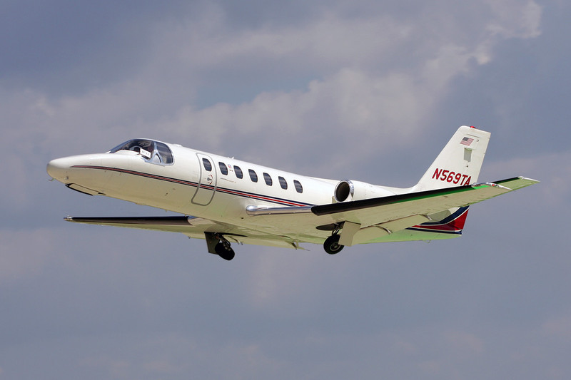 N569TA Cessna 560 Citation V c/n 560-0006 Oshkosh/KOSH/OSH 29-07-10