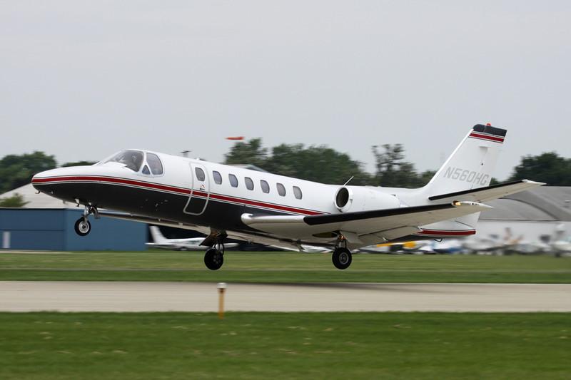 N560HG Cessna 560 Citation V c/n 560-0020 Oshkosh/KOSH/OSH 27-07-10