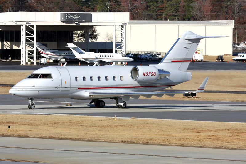 N373G Bombardier CL-604 Challenger c/n 5556 DeKalb-Peachtree/KPDK/PDK 07-12-08