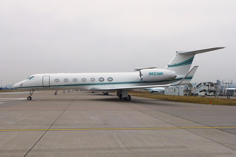 N653MK Gulfstream G550 c/n 5211 Zurich/LSZH/ZRH 26-01-12