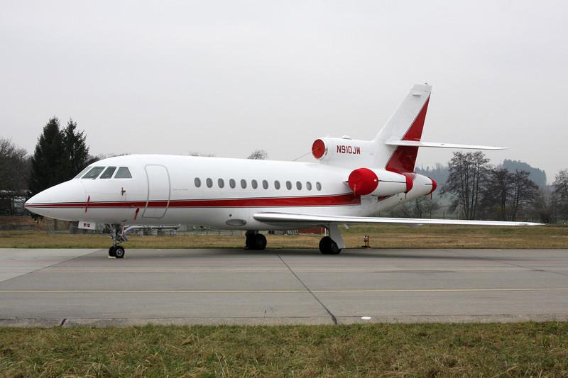 N910JW Dassault Falcon 900 c/n 31 Zurich/LSZH/ZRH 26-01-12
