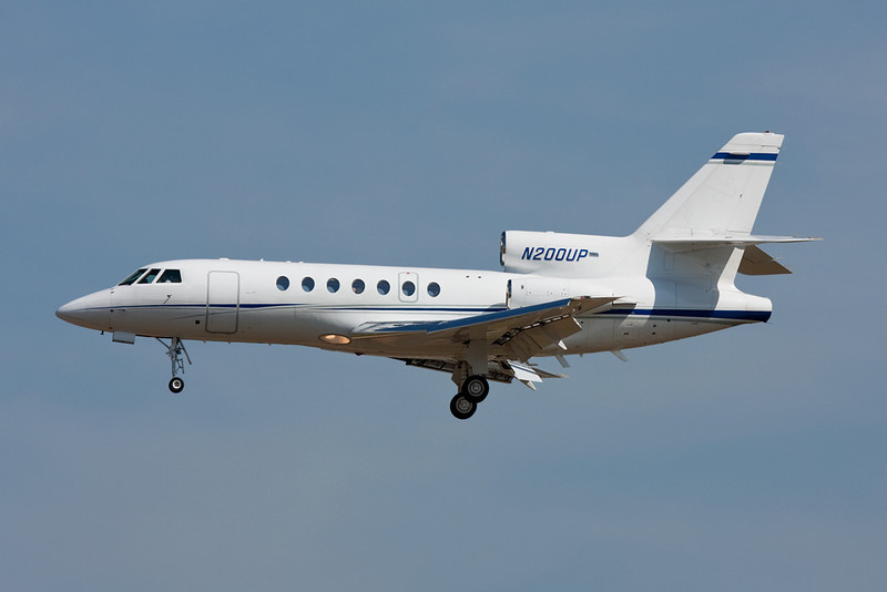 N200UP Dassault Falcon 50 c/n 55 Frankfurt/EDDF/FRA 01-07-10