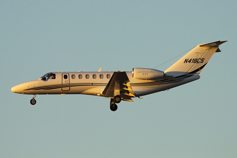N418CS Cessna 525B Citation Jet 3 c/n 525B-0108 Phoenix-Sky Harbor/KPHX/PHX 17-11-16