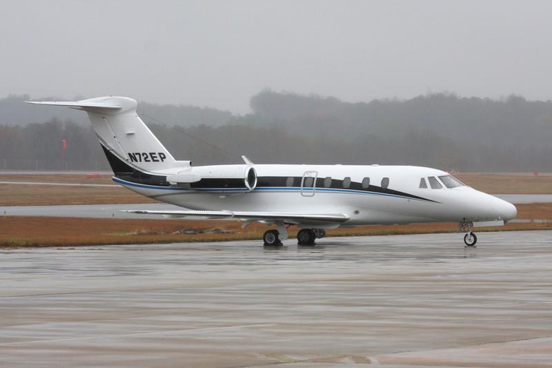 N72EP Cessna 650 Citation III c/n 650-0058 Fulton County/KFTY/FTY 30-11-08