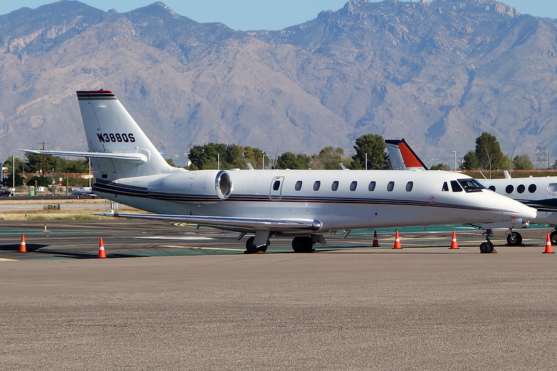 N388QS Cessna 680 Citation Sovereign c/n 680-0113 Tucson IAP/KTUS/TUS 14-11-16