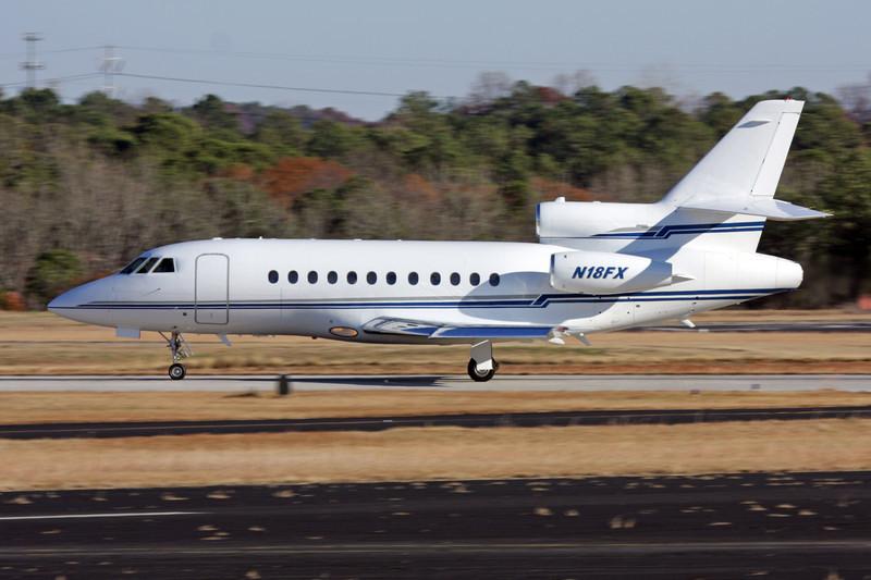 N18FX Dassault Falcon 900B c/n 152 DeKalb-Peachtree/KPDK/PDK 07-12-08