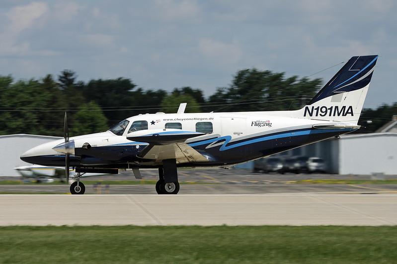 N191MA Piper PA-31T1 Cheyenne I c/n 31T-8104019 Oshkosh/KOSH/OSH 01-08-13