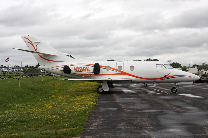 N18SK Dassault Falcon 10 c/n 34 Oshkosh/KOSH/OSH 28-07-16