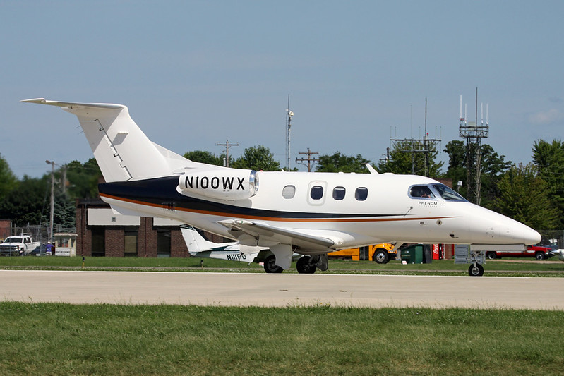 N100WX Embraer EMB-500 Phenom 100 c/n 50000037 Oshkosh/KOSH/OSH 30-07-16