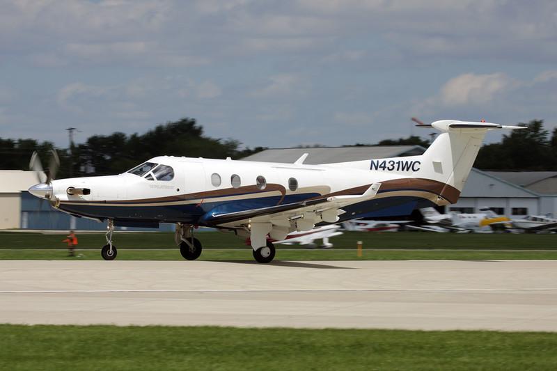 N431WC Pilatus PC-12-45 c/n 431 Oshkosh/KOSH/OSH 28-07-10