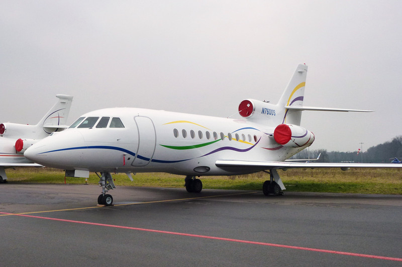 N7600S Dassault Falcon 900EX EASy c/n 173 Zurich/LSZH/ZRH 26-01-12