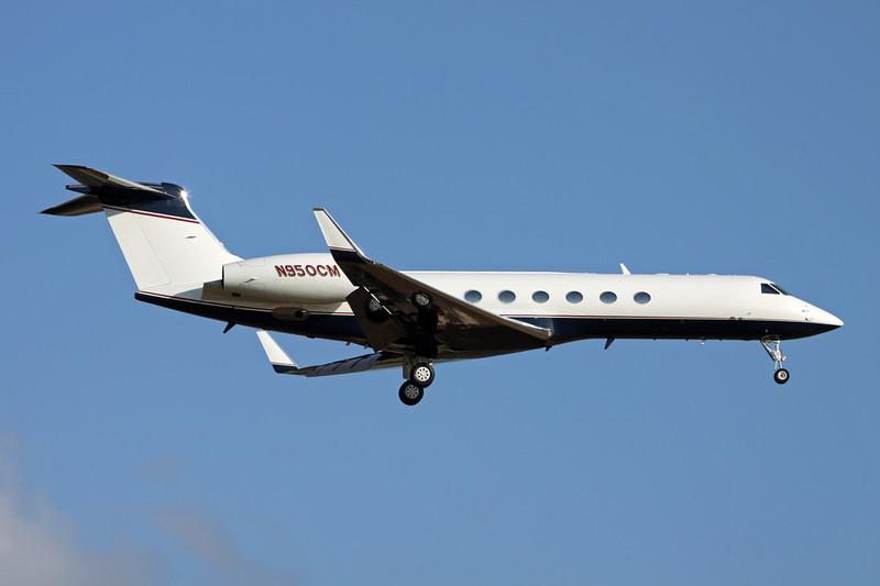 N950CM Gulfstream G5 c/n 592 Palma/LEPA/PMI 14-06-16
