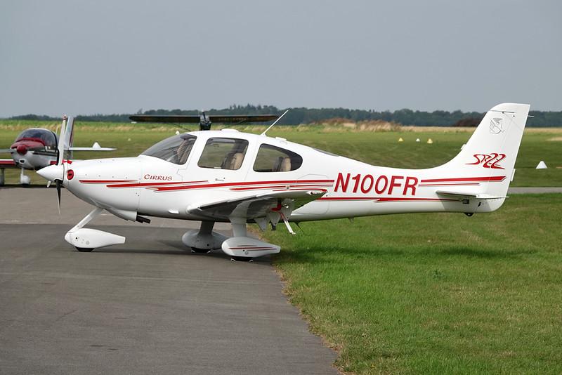 N100FR Cirrus Design SR-22 c/n 0770 Abbeville/LFOI 31-08-19