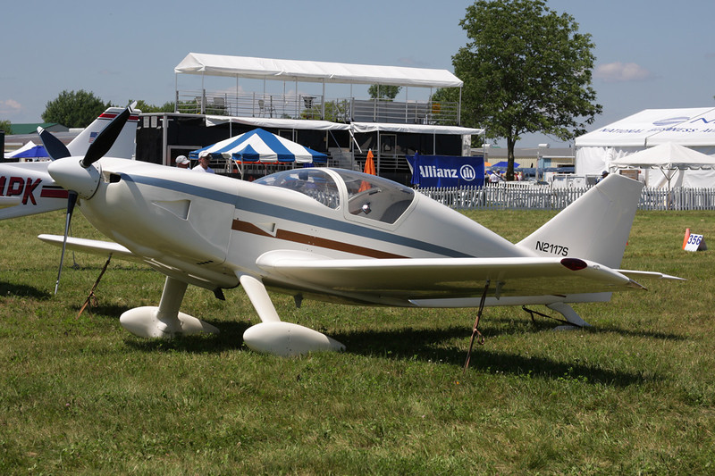 N2117S Stoddard-Hamilton Glasair II c/n 120 Oshkosh/KOSH/OSH 26-07-10