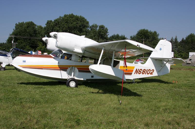 N68102 Grumman Widgeon J4F-2 c/n 1351 Oshkosh/KOSH/OSH 29-07-10