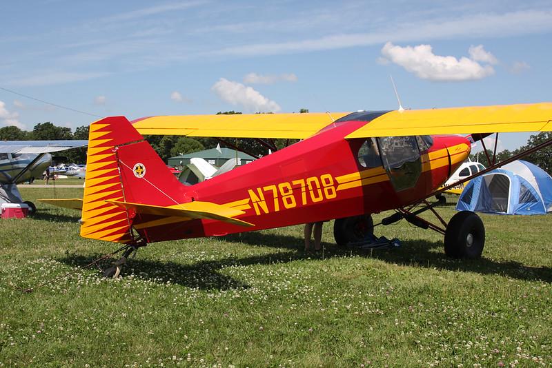 N78708 Piper PA-12 Super Cruiser c/n 12-3984 Oshkosh/KOSH/OSH 26-07-16