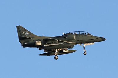 N141EM Douglas TA-4K Skyhawk c/n 14095 Nellis/KLSV/LSV 02-02-18