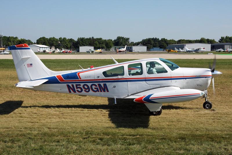 N59GM Beech F33A Bonanza c/n CE-964 Oshkosh/KOSH/OSH 01-08-13