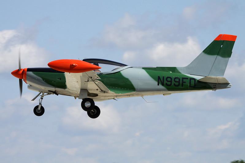N99FD SIAI-Marchetti SF-260D c/n 787 Oshkosh/KOSH/OSH 01-08-13