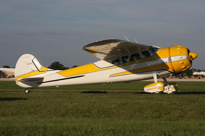 N3457V Cessna 195 c/n 7154 Oshkosh/KOSH/OSH 26-07-10