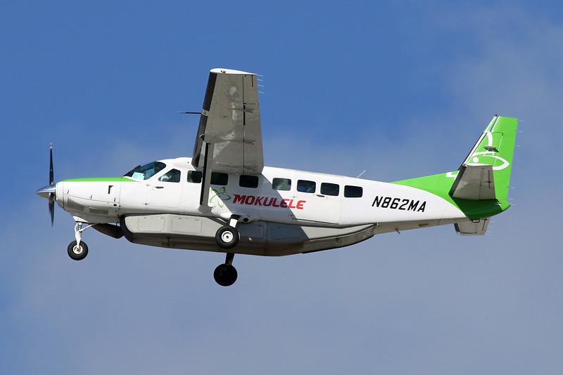 N862MA Cessna 208B Caravan c/n 208B-1138 Los Angeles/KLAX/LAX 25-01-18