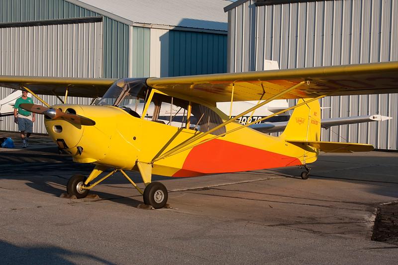 N83031 (NC83031) Aeronca 7AC Champion c/n 7AC-1687 Fond du Lac/KFLD/FLD 25-07-10