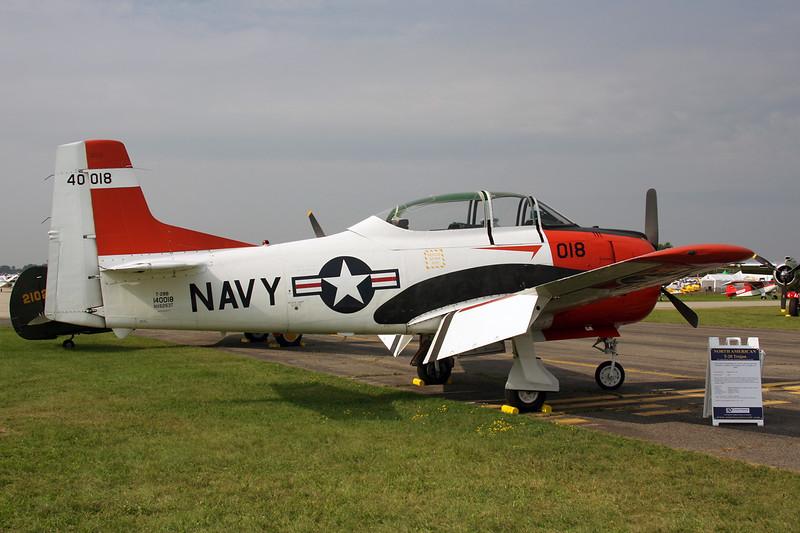 N6263T (NX6263T/018/140018) North American T-28B Trojan c/n 219-17 Oshkosh/KOSH/OSH 30-07-10