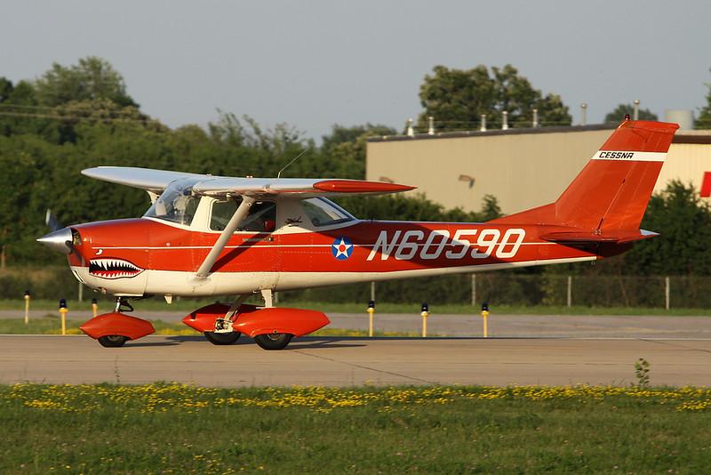 N60590 Cessna 150J c/n 150-70428 Oshkosh/KOSH/OSH 26-07-16