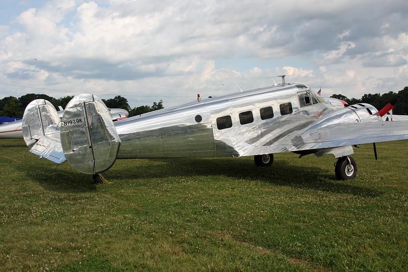 N1939K Beech E.18S 9700 c/n BA-403 Oshkosh/KOSH/OSH 27-07-16