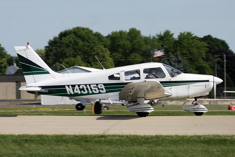 N43159 Piper PA-28-151 Warrior II c/n 28-7415436 Oshkosh/KOSH/OSH 30-07-16
