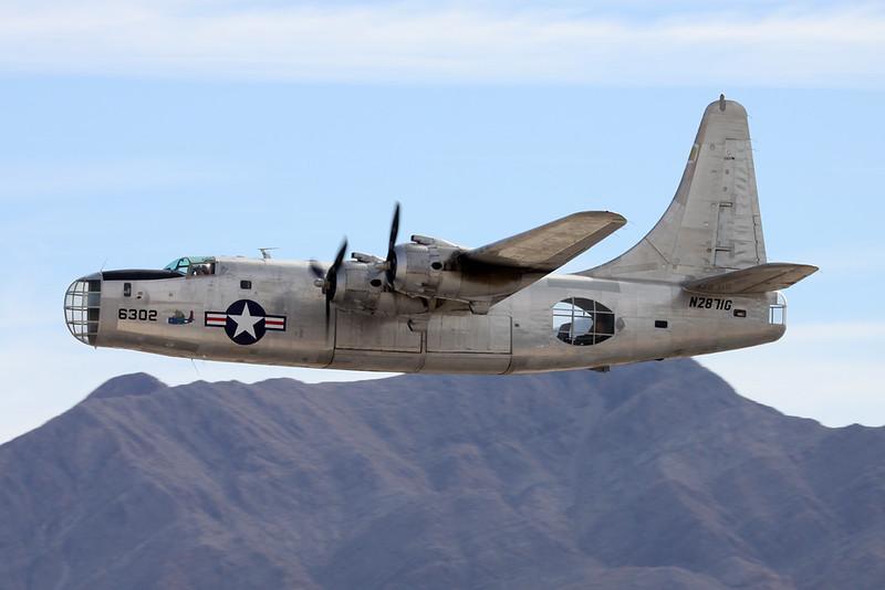 N2871G (6302) Consolidated PB4Y-2 Privateer c/n Bu66302 Nellis/KLSV/LSV 12-11-16