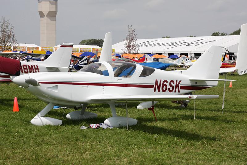 N6SK Stoddard-Hamilton Glasair II c/n 2098 Oshkosh/KOSH/OSH 27-07-10