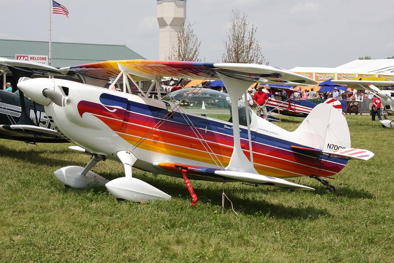 N70CE Christen Eagle II c/n GA0058 Oshkosh/KOSH/OSH 26-07-10